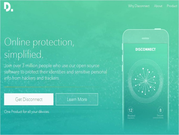 Disconnect software bloccare Malware su Android
