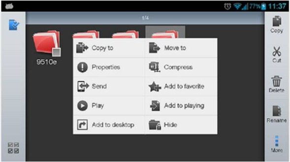 ES File Explorer File Manager come ripristinare il browser nativo di Android