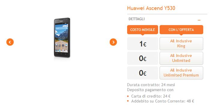 Huawei-Ascend-Y530-caratteristiche,-specifiche-tecniche-e-offerte operatori-5