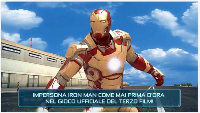 Iron Man 3 giochi Android film d'animazione