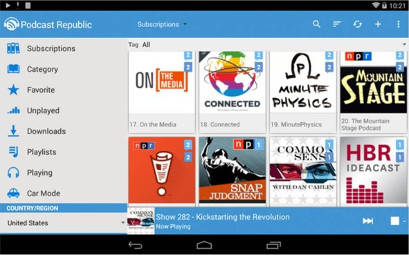 Podcast Republic Android