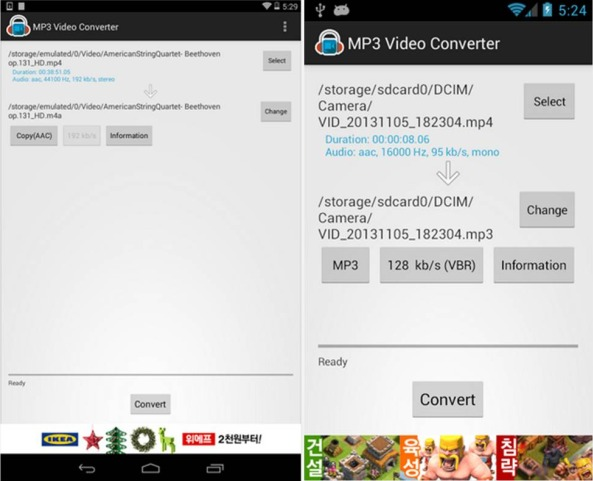 Scaricare musica da Youtube su Android Mp3 Video Converter e Tubemate