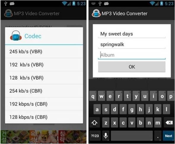 Scaricare musica da Youtube su Android Mp3 Video Converter