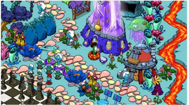 Smurfs' Village giochi film d'animazione