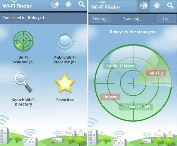 WiFi Finder migliori applicazioni Android per spostarti in città