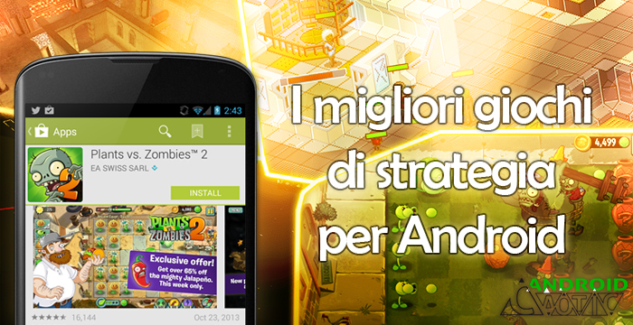 Giochi strategia android