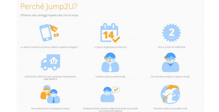 Jump2u: smartphone cinesi 3