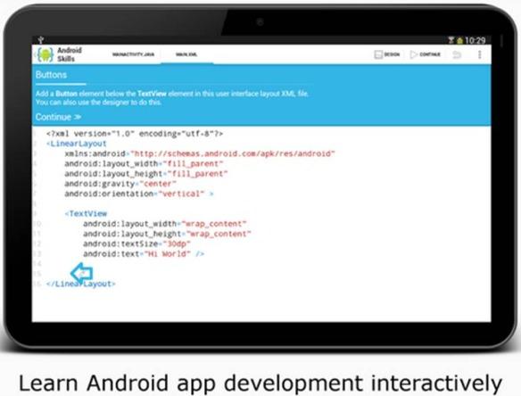 AIDE programmare con Android  editor di codice