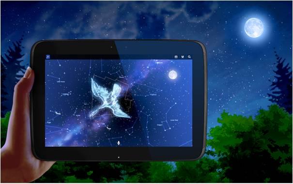 Mappa Stellare applicazioni di astronomia su Android