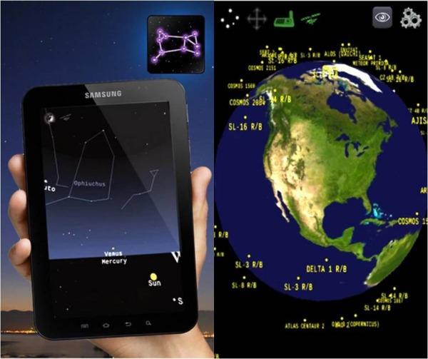 The Night Sky Lite applicazioni di astronomia su Android