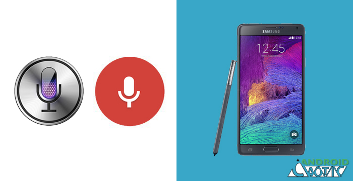 how to open s voice on note 4