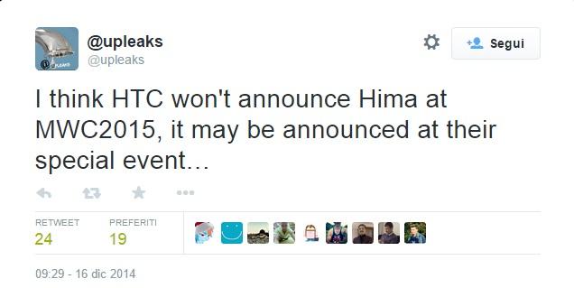 htc hima -upleaks