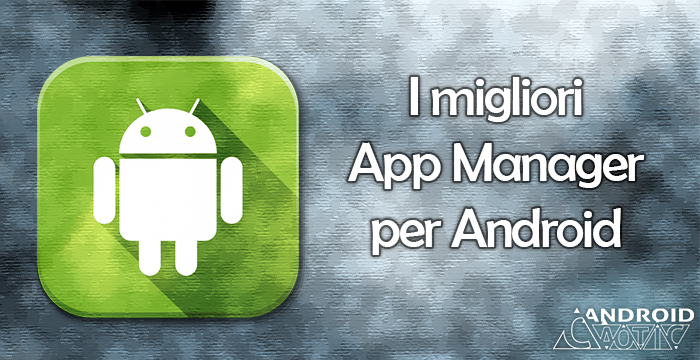 app manager gestione e backup