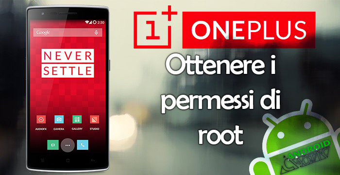 oneplus one root
