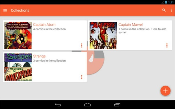 Astonishing Comic Reader applicazioni Android del momento