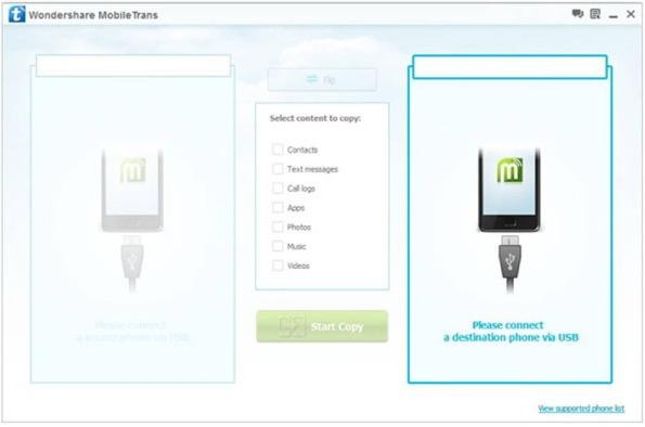 Come trasferire app da Android ad Android con Wondershare MobileTrans