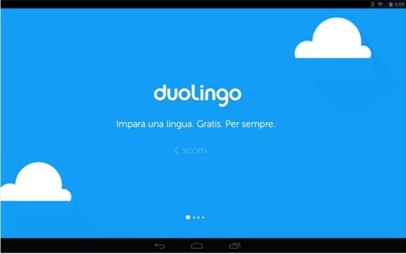 Duolingo applicazioni Android consigliate