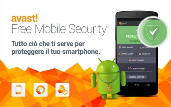 Scansione virus Android come effettuarla con Avast