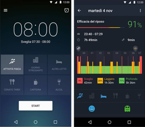 Sleep Better With Runtastic applicazioni Android del momento