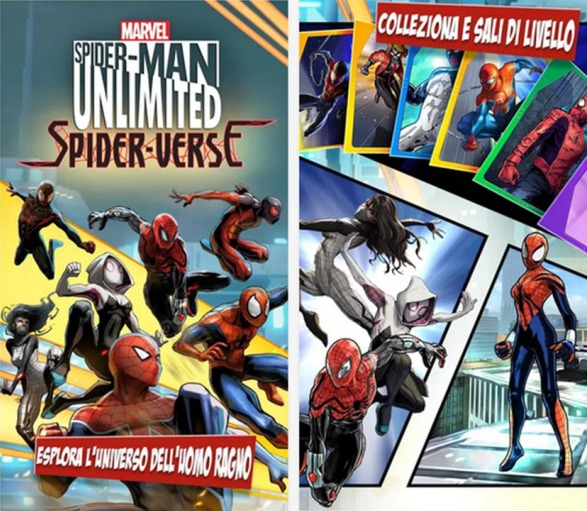 Spider-Man Unlimited giochi belli Android