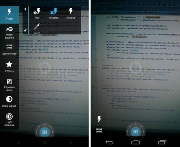 Focal alternativa Camera di Android