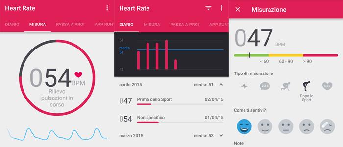 Migliori app frequenza cardiaca