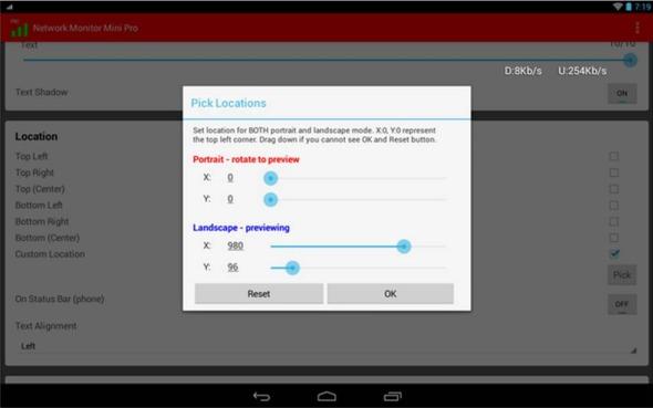 Network Monitor Mini prestazioni smartphone Android