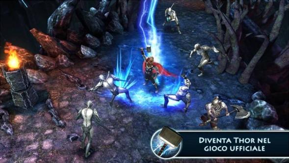Thor giochi supereroi Marvel gratis