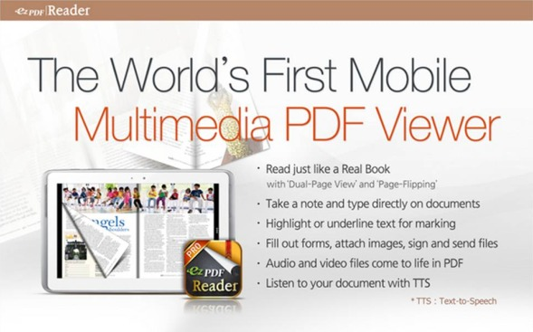 ezPDF Reader modificare PDF su Android