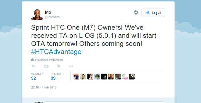 htc one m7 -update-moversi-twitter