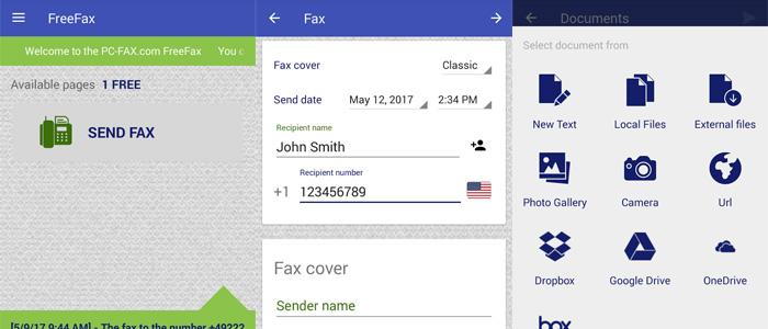 Migliori app Android fax