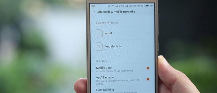 Funzione di roaming su Xiaomi