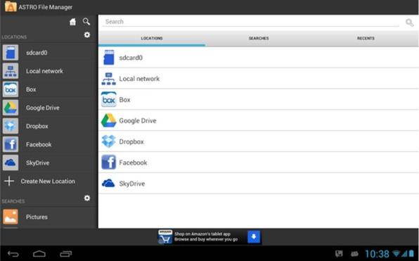 ASTRO File Manager applicazioni produttività Android