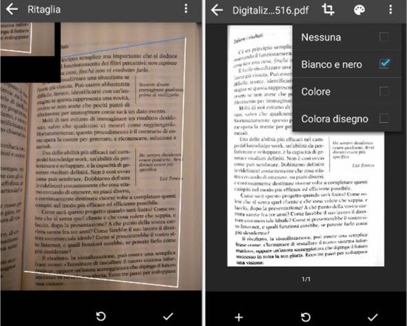Come scannerizzare documenti Android con Google Drive
