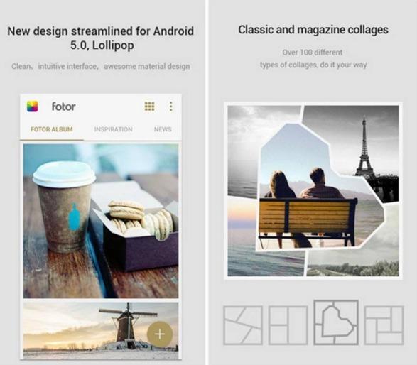 Fotor applicazioni Android da avere assolutamente