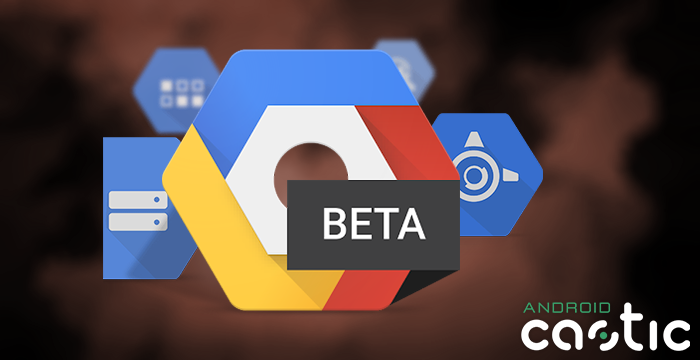 Google Cloud Console Beta