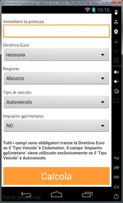 le migliori app per calcolare il bollo dell u0026 39 auto dal proprio dispositivo android