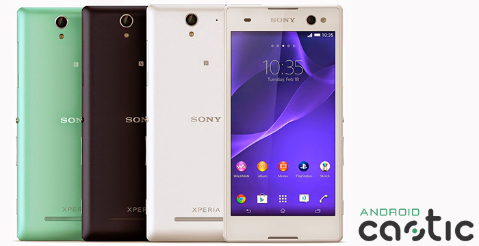 Sony Xperia C3 Lollipop