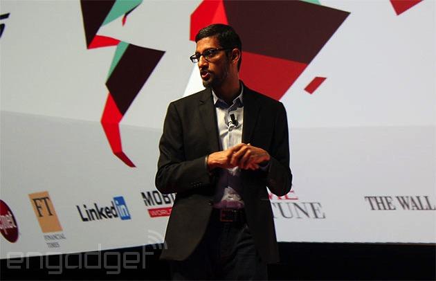 Android Pay Sundar Pichai
