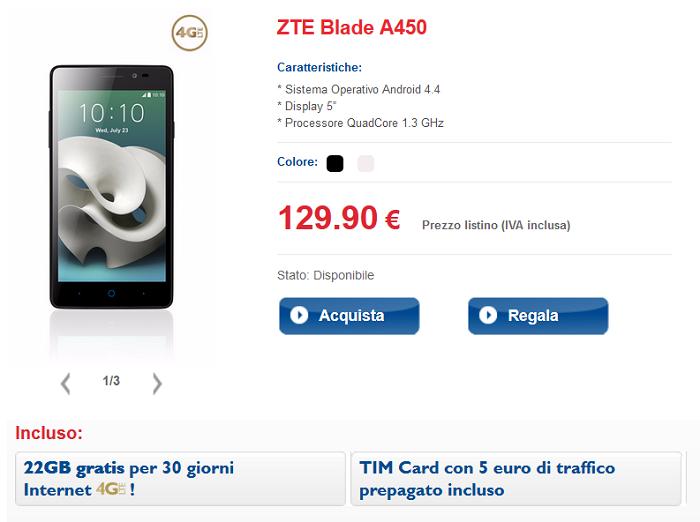 ZTE-Blade-A450-caratterstiche,-offerte-operatore-Tim-e-specifiche-tecniche-5