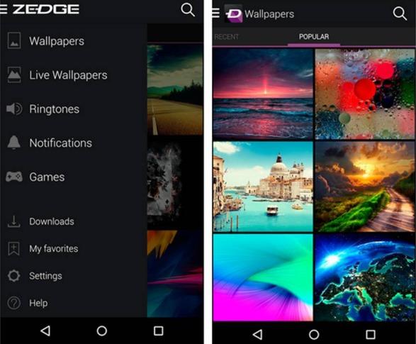 Zedge applicazioni Android da avere assolutamente
