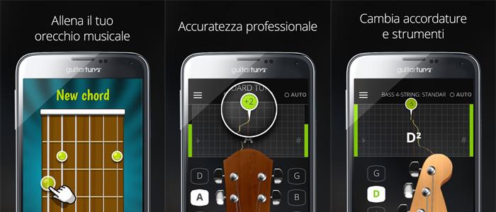 accordatore chitarra in italiano gratis da
