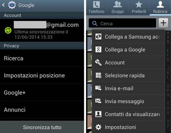 contatti duplicati su Gmail rimuoverli da Android