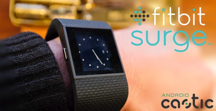 Fitbit Surge supporto ciclismo