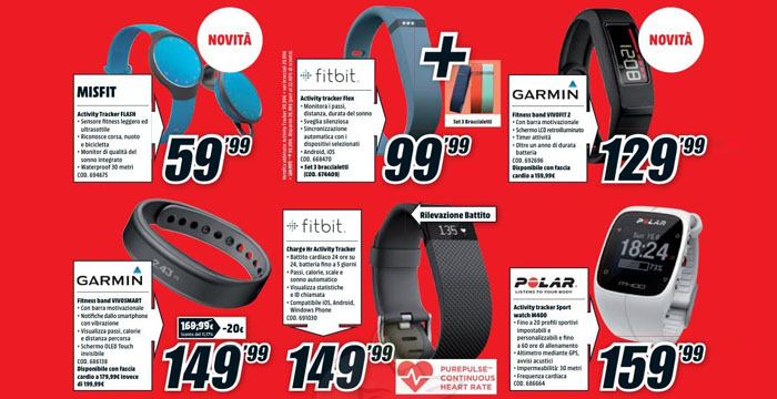 volantino mediaworld 26032015 - fitness band