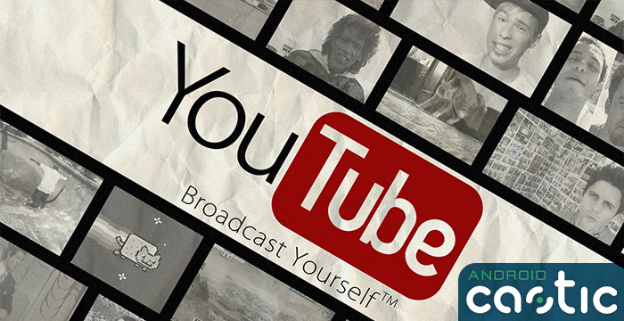 YouTube video a 360°