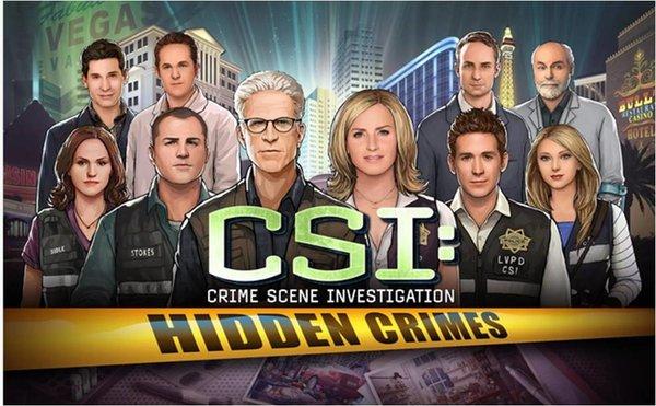 CSI Hidden Crimes giochi Android più belli 2015