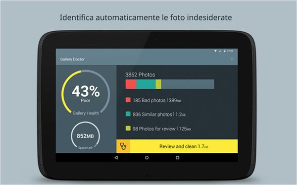 Come cancellare foto indesiderate Android con Gallery Doctor