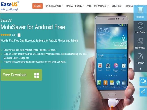 Come recuperare SMS cancellati su Android con EaseUS MobiSaver