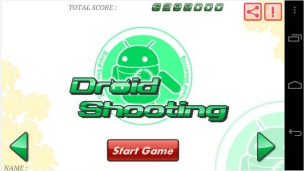 Droid Shooting giochi Android gratis da scaricare